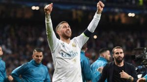 Sergio Ramos is looking to win his fourth Champions League. Denis Doyle - UEFA/UEFA via Getty Images